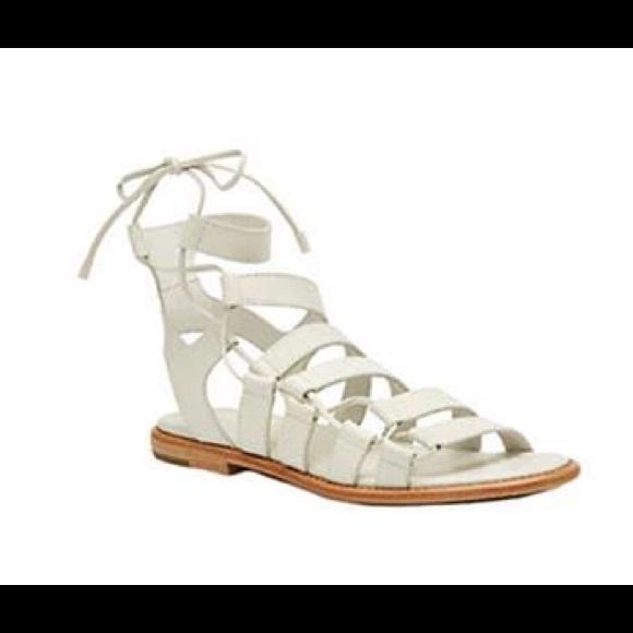 7e060697b5d Frye Shoes - Frye Blair Side Ghillie Leather Sandal size 10